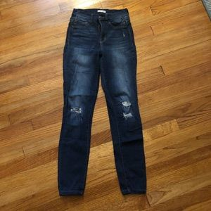 Distressed jeans   Stevie Hender   Size 1